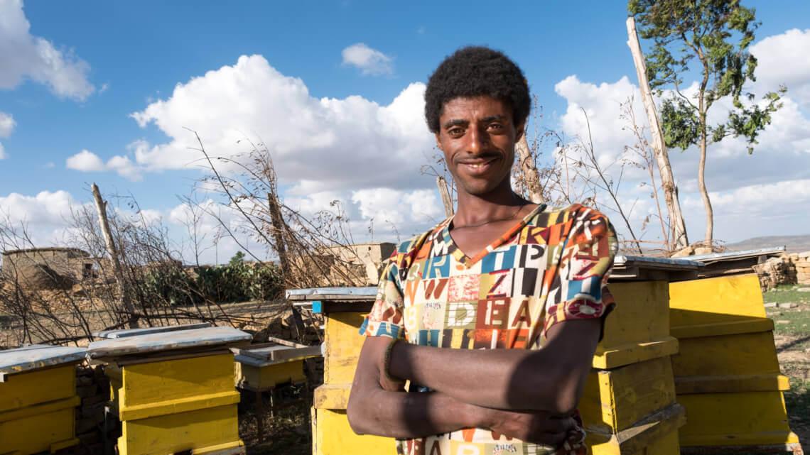Caritas International Le miracle des abeilles