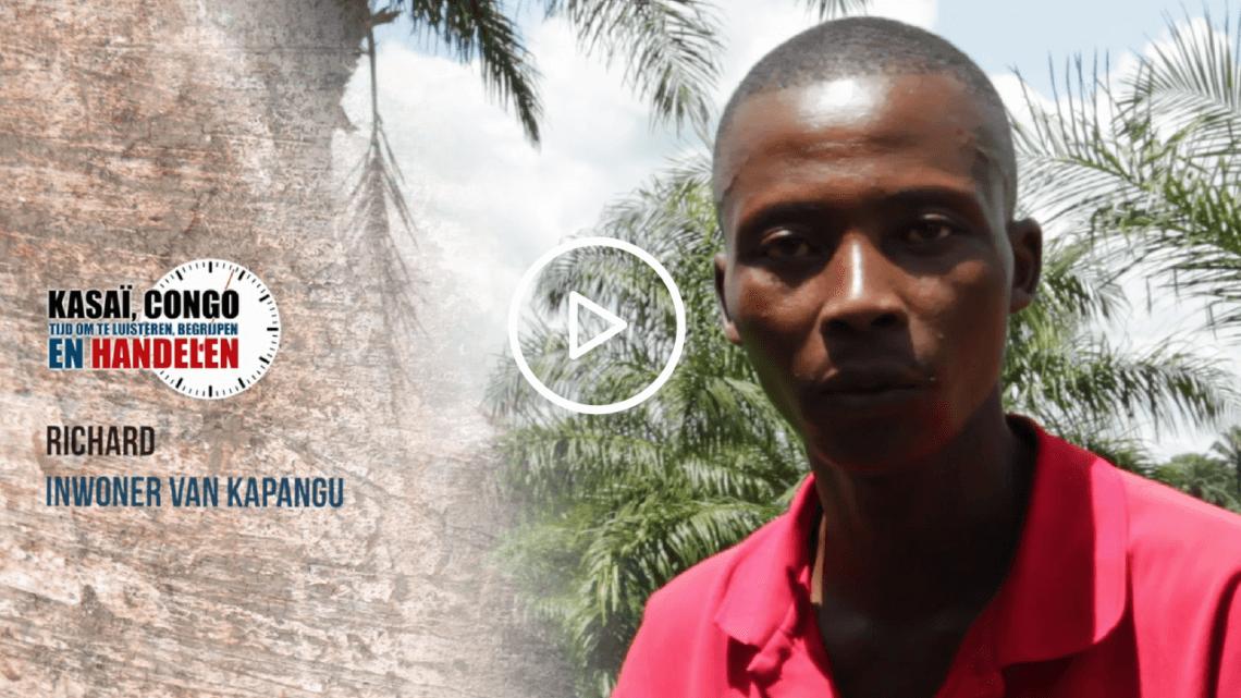 Caritas International Richard getuigt… #KasaiNow