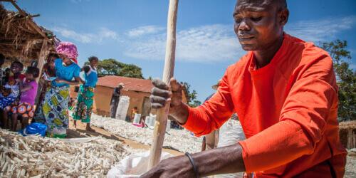 Caritas International Meer voedselzekerheid, betere voeding en hygiëne, via de uitbouw van coöperaties