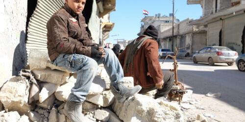 Caritas International Een waardig individueel, familiaal en gemeenschappelijk leven in Aleppo