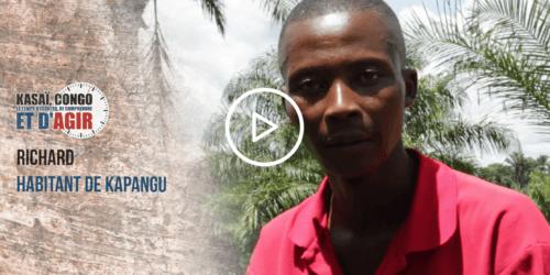Caritas International Richard témoigne… #KasaiNow