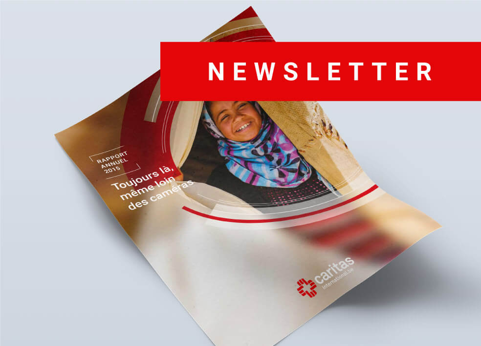 Caritas International Belgium Newsletter