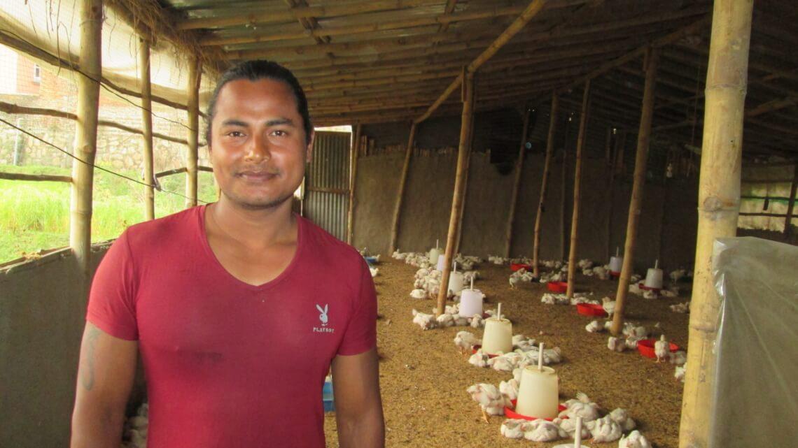 Caritas International Belgique Coup de projecteur: 'Népal, une panoplie de projets'