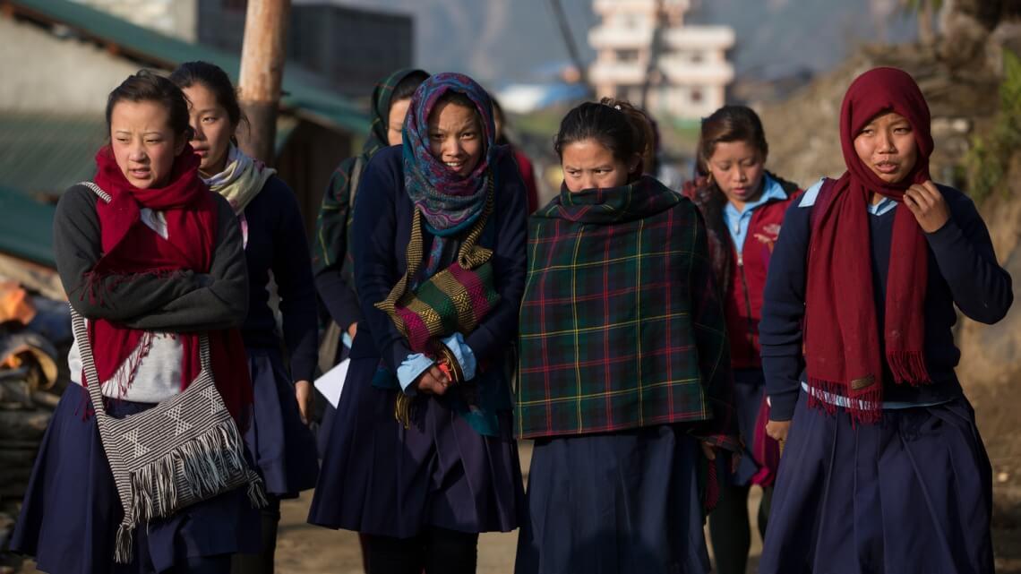 Caritas International Belgique Réhabilitation de 34 écoles à Sindhupalchok