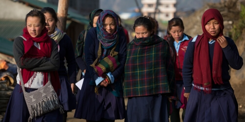 Caritas International Belgique Réhabilitation de 34 écoles à Sindhupalchok