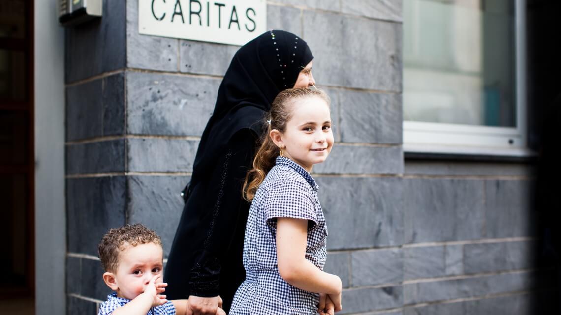Caritas International Belgique Crise de l'accueil en Belgique: Mais qui sont ces migrants?