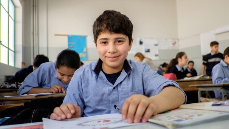 Caritas InternationalTeken mee de toekomst van vluchtelingenkinderen in Libanon