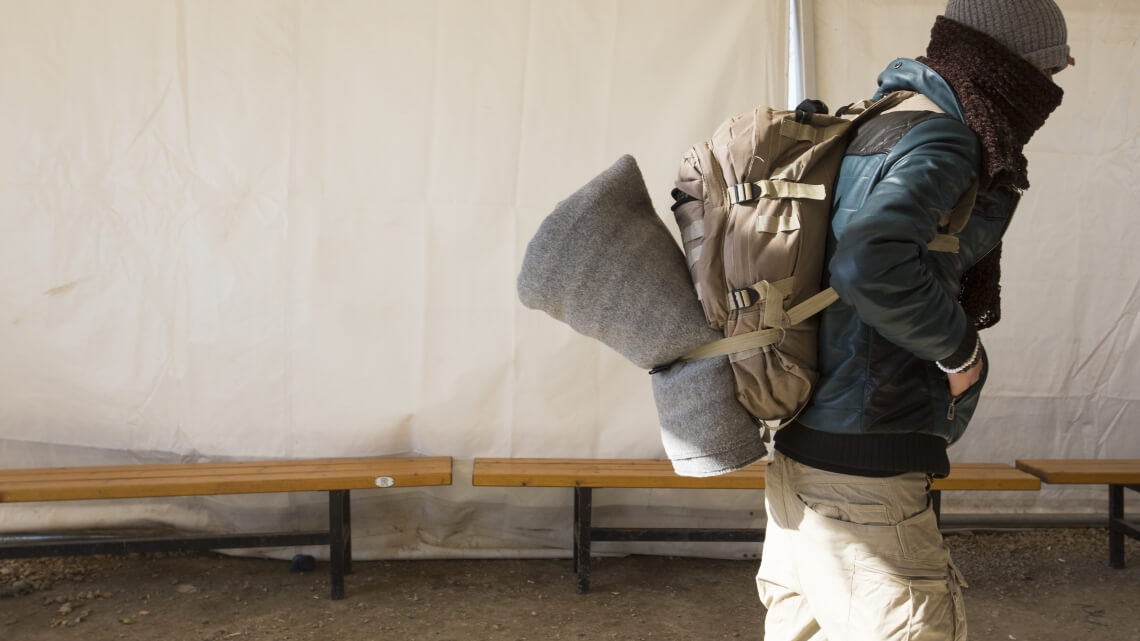Caritas International Syrian humanitarian workers fleeing themselves