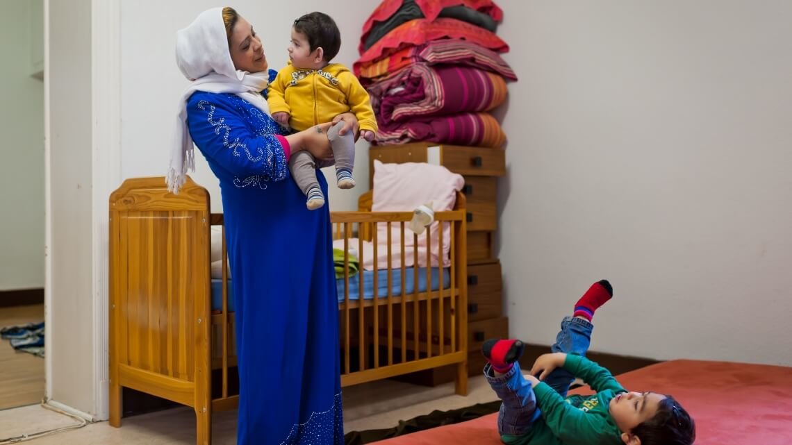 Caritas International België Drie vragen aan een solidaire huiseigenaar