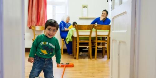 Caritas International Belgique 10.000 réfugiés cherchent un nouveau logement