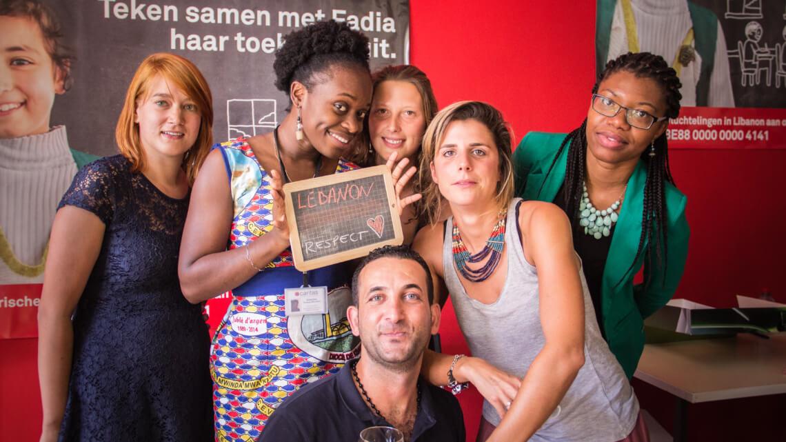 Caritas International Belgique Des mots de soutien pour les enfants syriens au Liban