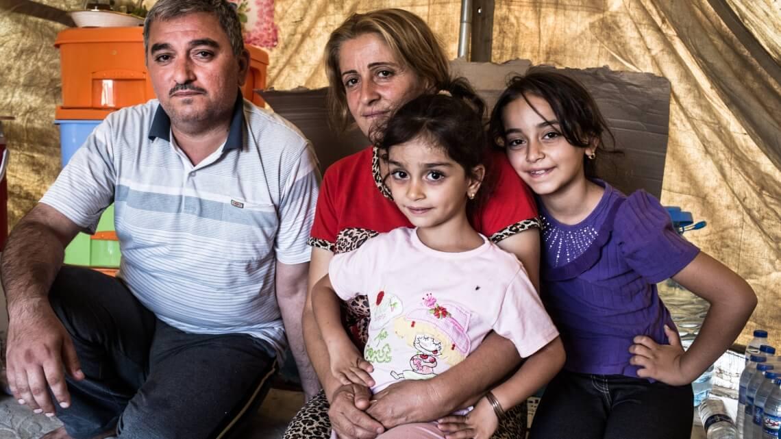 Caritas International België Programma ter ondersteuning van kinderen en families in Bagdad, Erbil, d'Algosh en Kirkuk