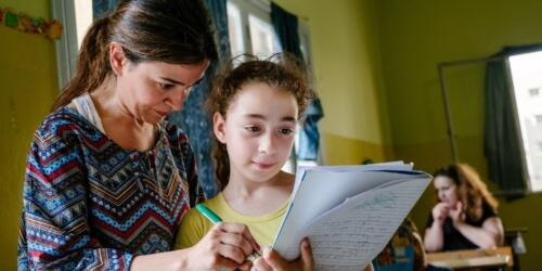Caritas International Belgique École des devoirs pour enfants à risque libanais et réfugiés (Beyrouth)