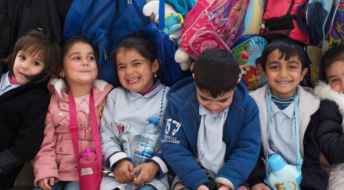 Caritas International België Socio-educatieve integratie van vluchtelingenkinderen en Libanese kinderen (Furn El Chebbak)
