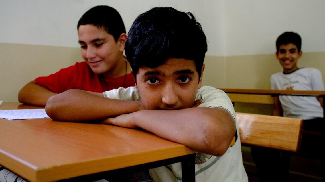 Caritas International Socio-educatieve integratie van vluchtelingenkinderen en Libanese kinderen (Klayaa)