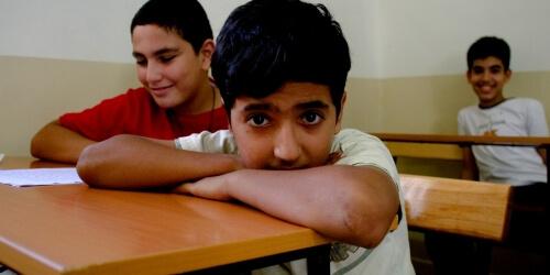 Caritas International België Socio-educatieve integratie van vluchtelingenkinderen en Libanese kinderen (Klayaa)