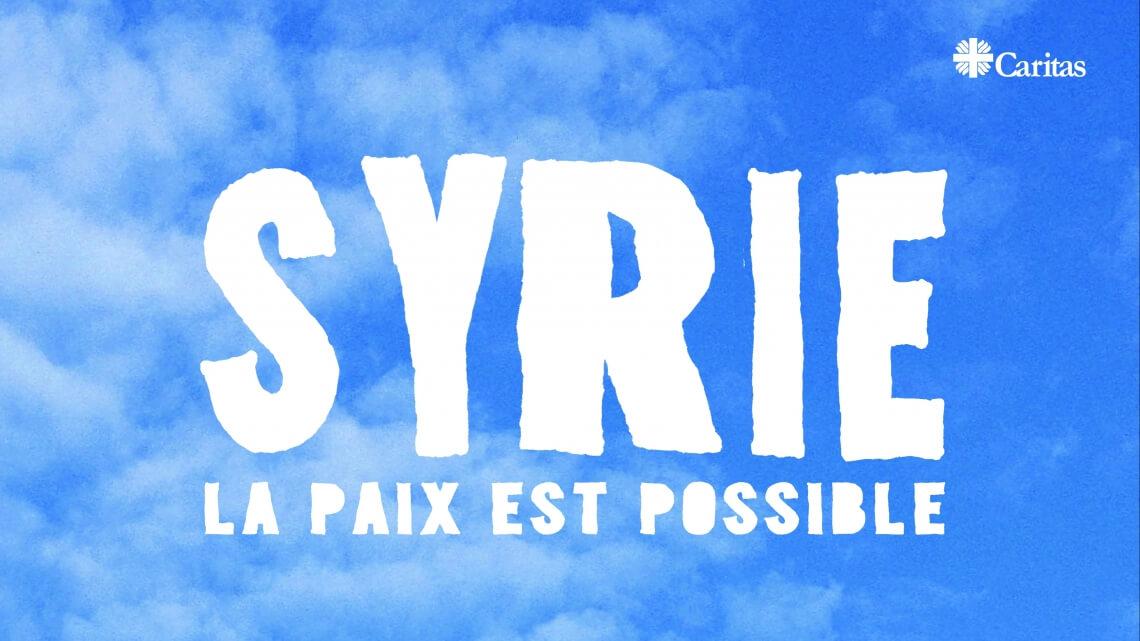 Caritas International Belgique «La paix est possible en Syrie», dit le pape François en soutien à la campagne de Caritas