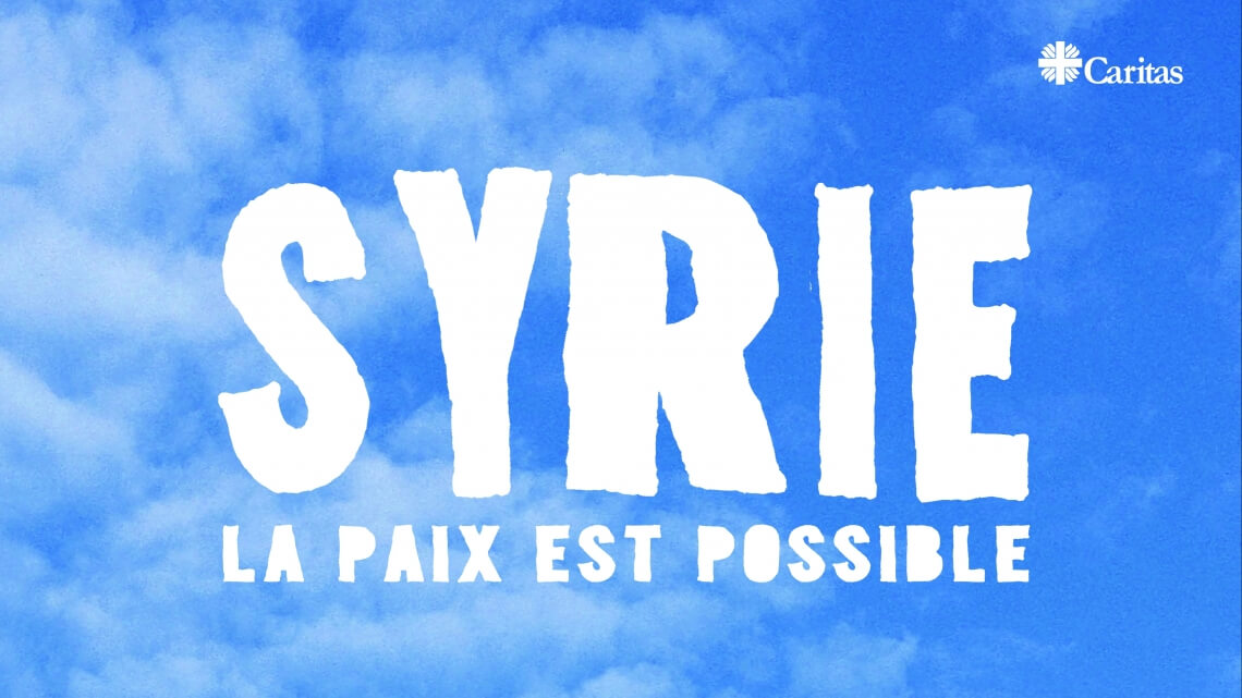 Caritas International Belgique « La paix est possible en Syrie »
