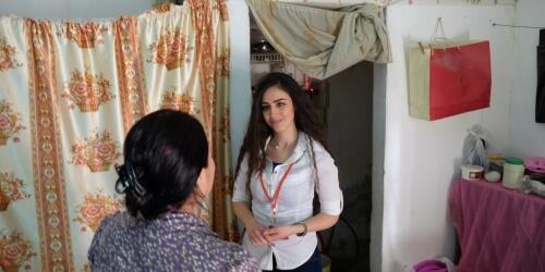 Caritas International België Noodhulp aan ontheemde Syriërs en lokale gemeenschappen