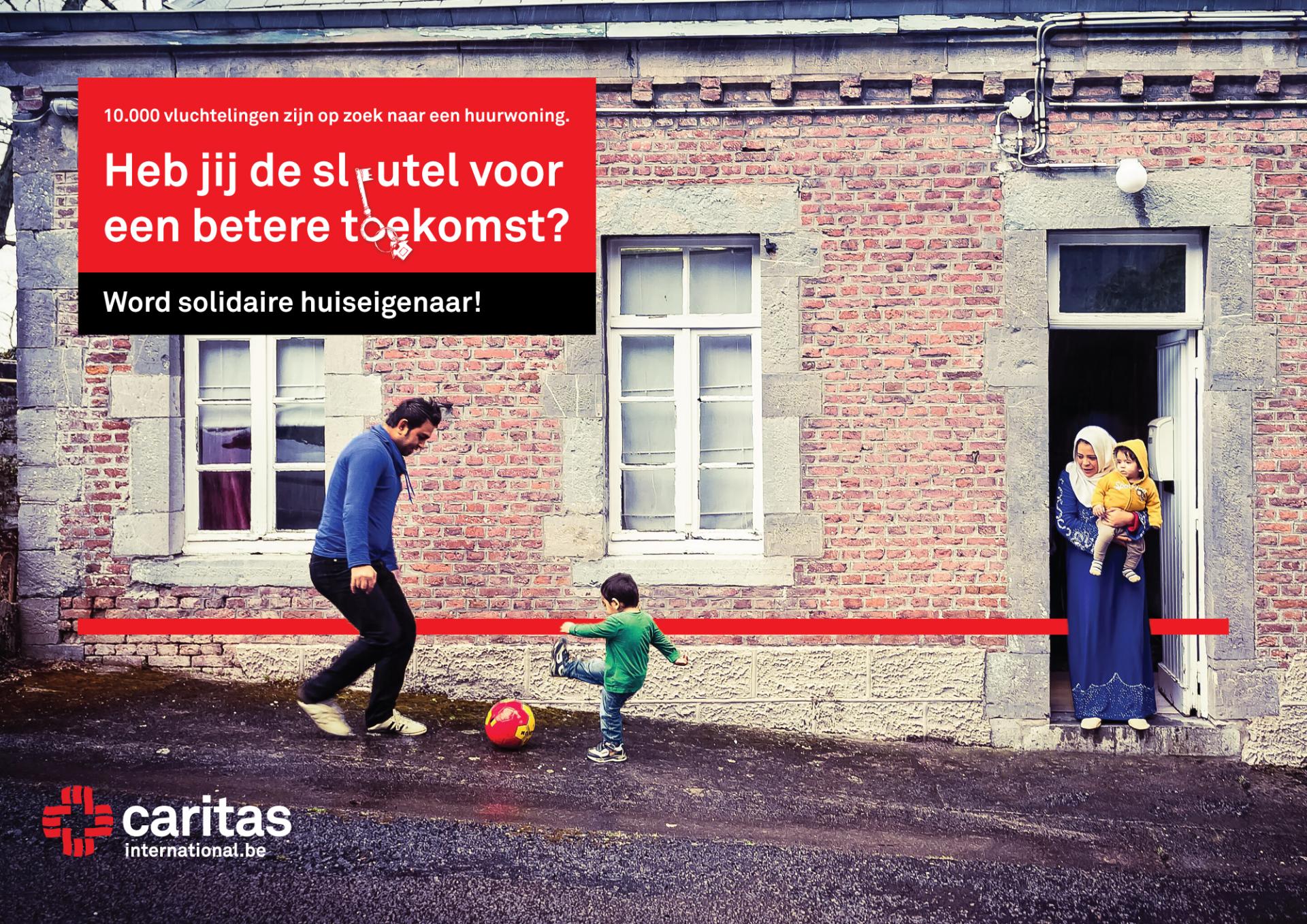 Caritas International België 10.000 vluchtelingen zoeken een huurwoning
