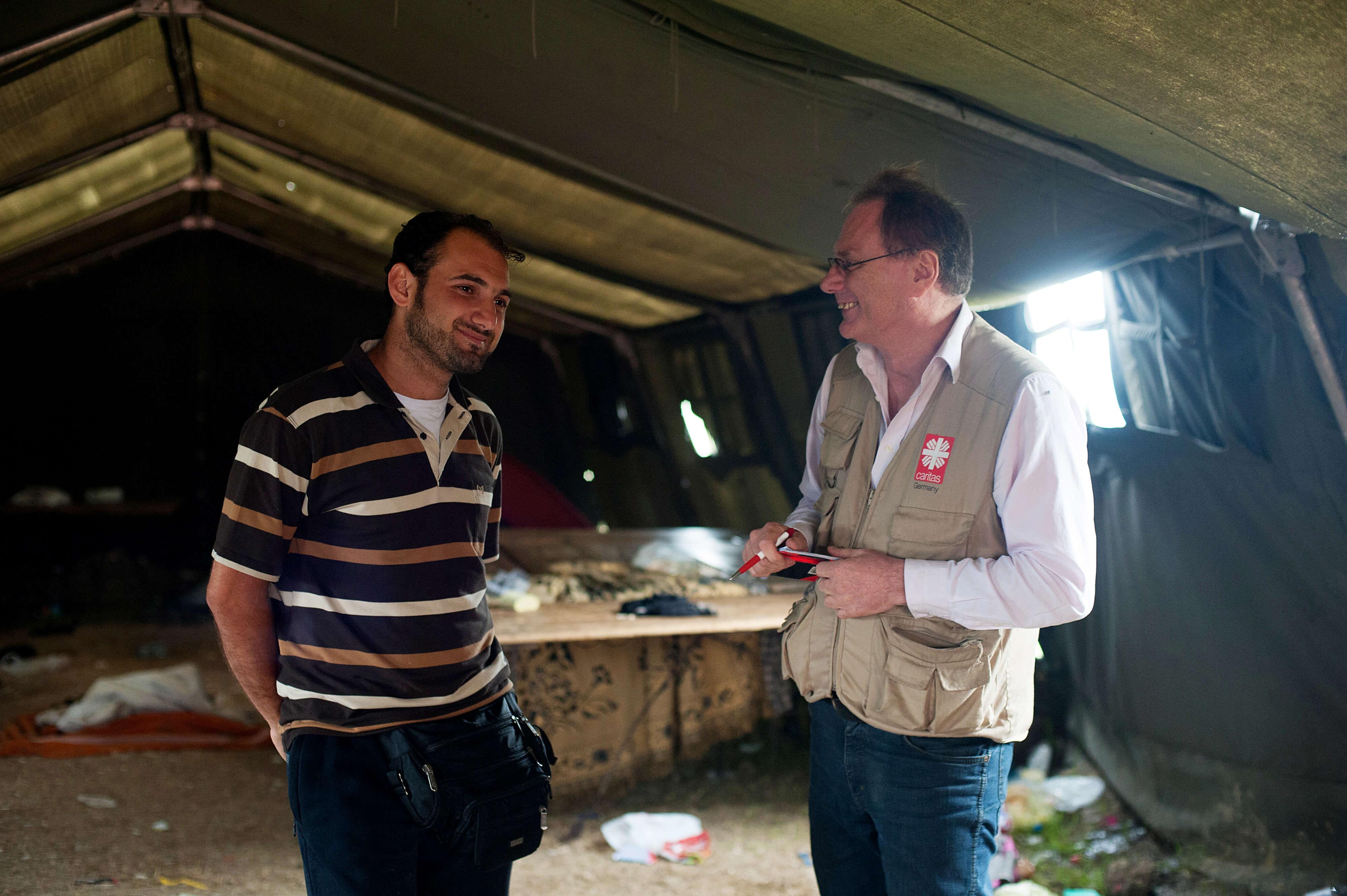 Caritas International Belgique L'histoire d'Abdalkharim
