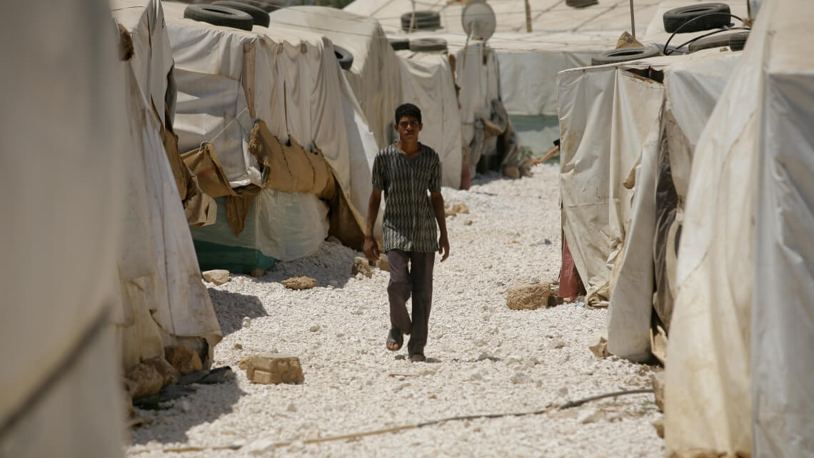 Caritas International België Vier en een half jaar crisis heeft Jordanië's opvangcapaciteiten uitgeput