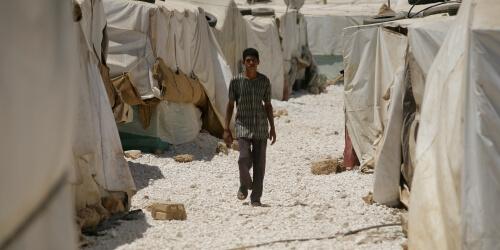 Caritas International België Jordanië's opvangcapaciteiten uitgeput