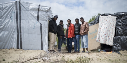 Caritas International Belgique Comment «la jungle» en est-elle arrivée là?