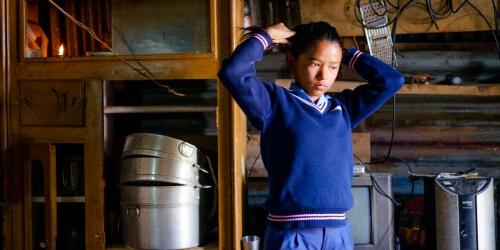 Caritas International België Samen scholen bouwen in Sindhupalchok