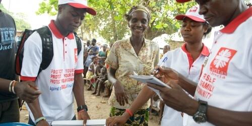 Caritas International Belgique Ebola bat en retraite!
