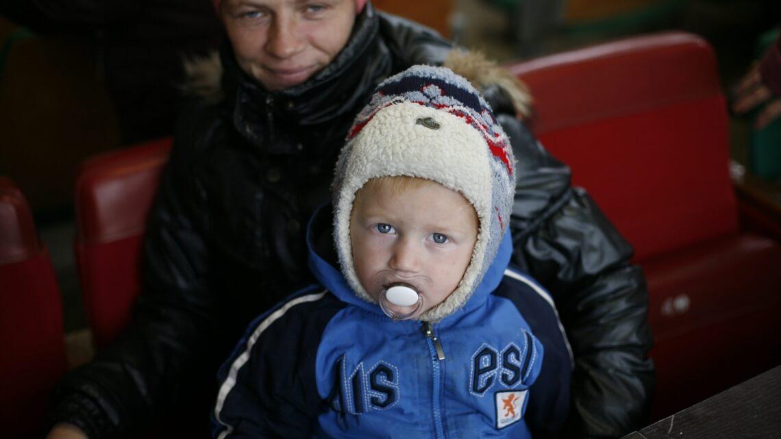Caritas International België De grote kou valt over Oekraïne