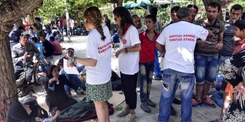 Caritas International Belgique L'impasse grecque