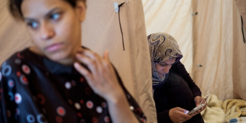 """Caritas International België """"Drastisch meer hervestiging van vluchtelingen nodig"""""""