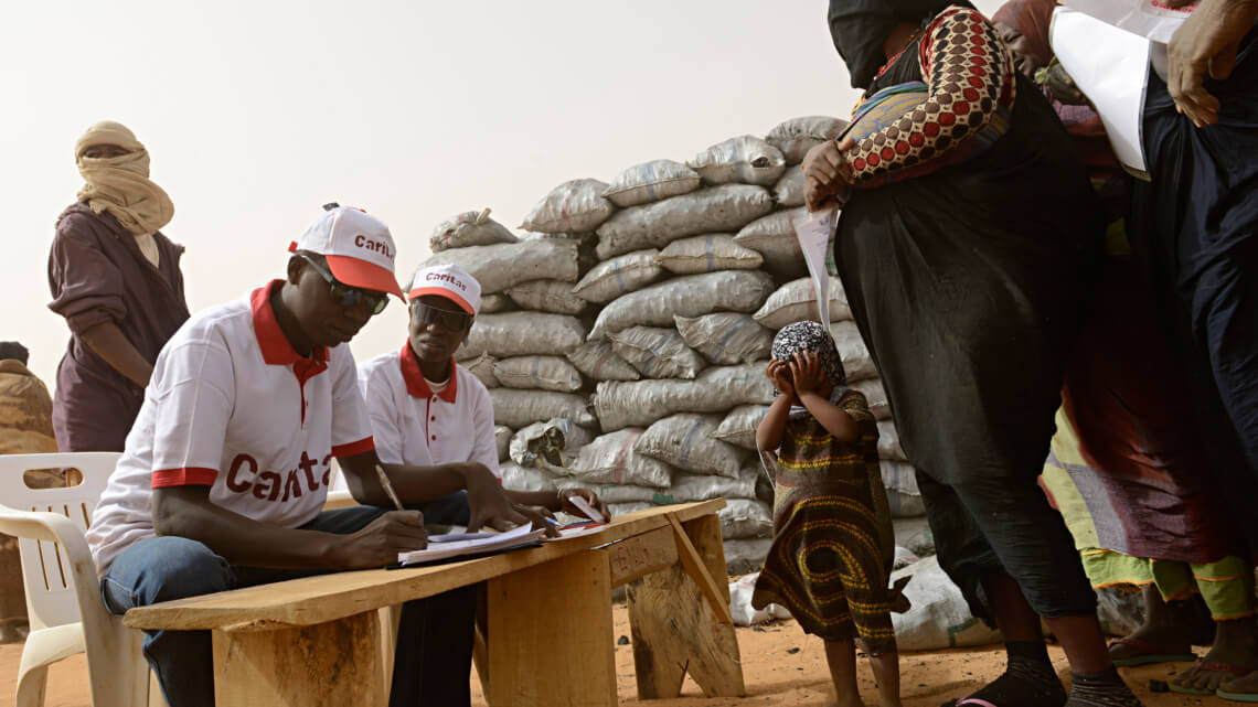 Caritas International Steunproject voor CADEV Niger