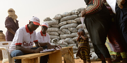 Caritas International België Steunproject voor CADEV Niger