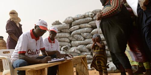 Caritas International België Hulp en begeleiding van migranten