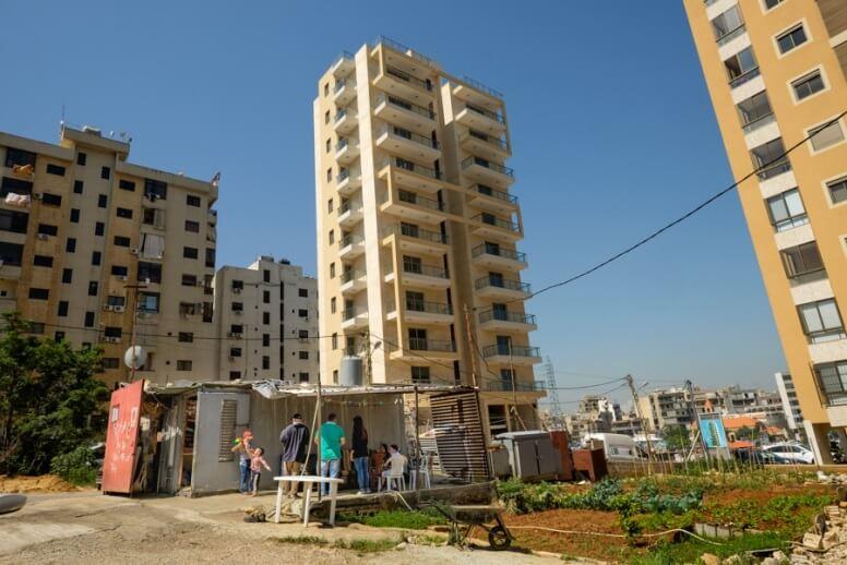 Caritas International België Syrische vluchtelingen overleven met steun van Caritas
