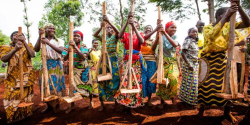 Caritas International België Steunprogramma ter ontwikkeling van de landbouwgemeenschappen van de Grote Meren
