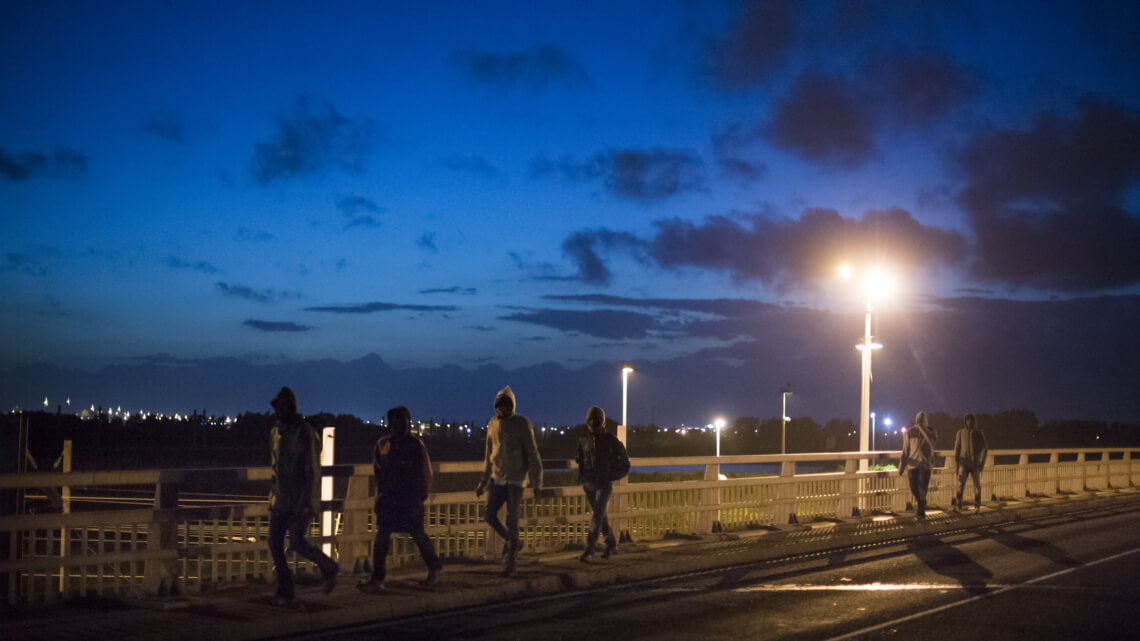"""Caritas International België Calais: """"een snelle ontmanteling is ondenkbaar"""""""