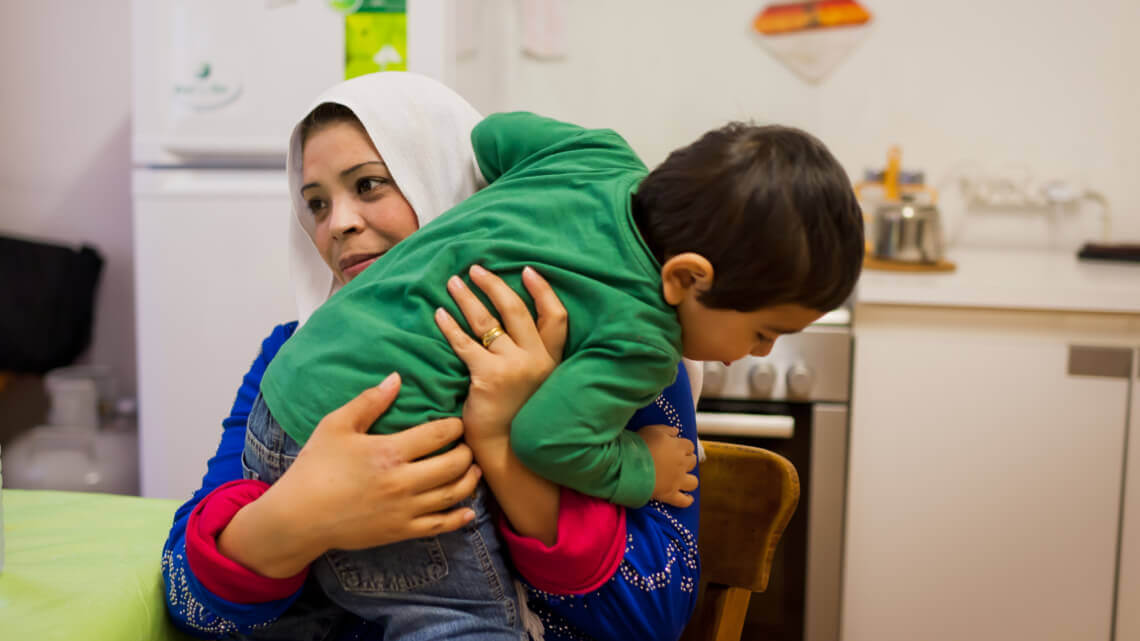 Caritas International Belgium Housing-cafes: encouraging first results