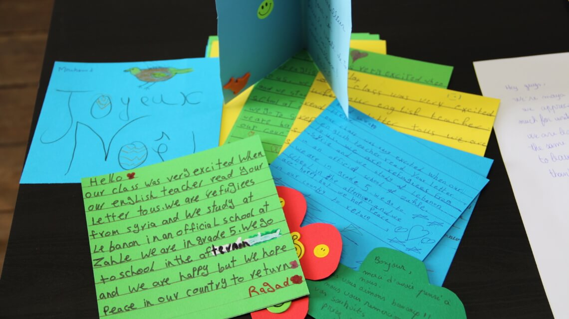 Caritas International België Neem met jouw klas deel aan 'Kerstmis op de vlucht'!
