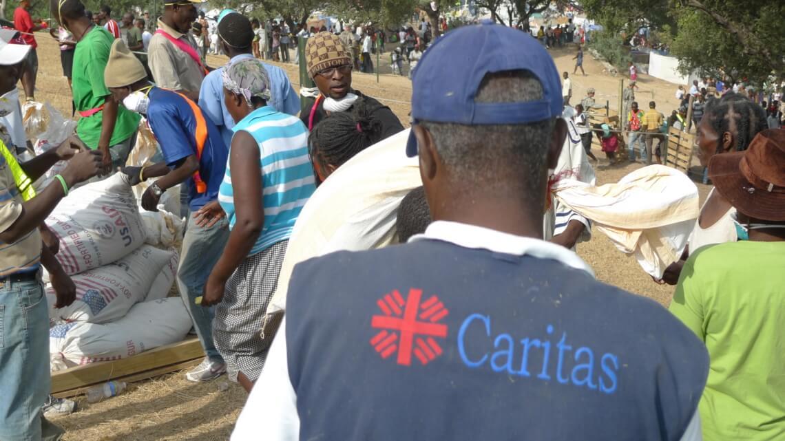 Caritas International België Noodhulp en heropbouw na de aardbeving