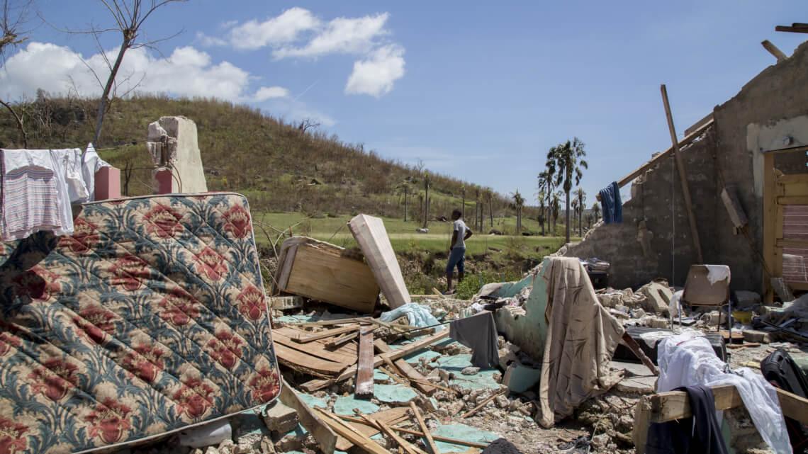 Caritas International Caritas soutient les plus vulnérables suite au passage de Matthew en Haïti