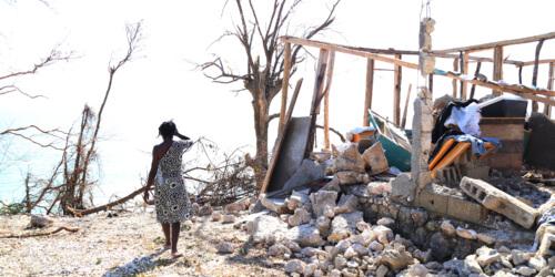 Caritas International België Na doortocht orkaan Matthew zorgt Caritas voor meest kwetsbare slachtoffers