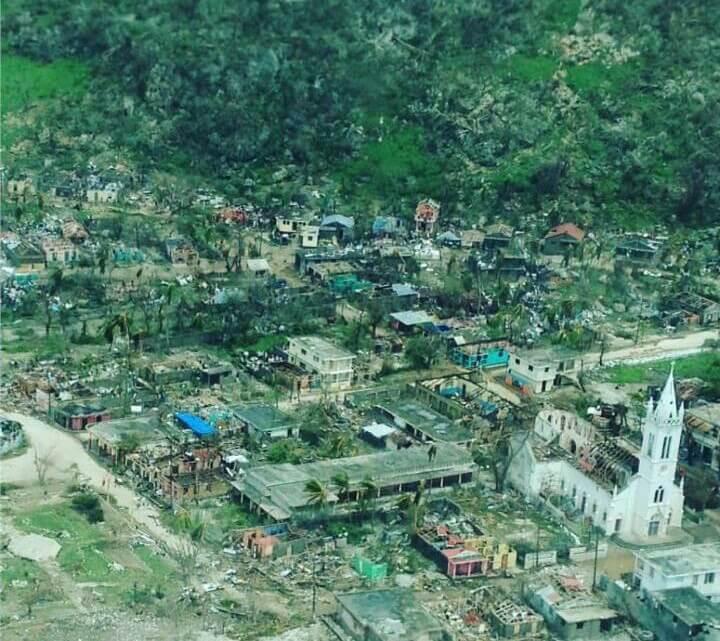 Caritas International Belgique Häiti : au lendemain du passage de l'ouragan Matthew