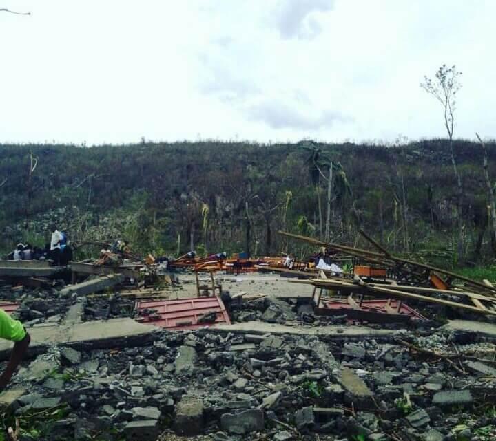 Caritas International Belgique Häiti: au lendemain du passage de l'ouragan Matthew
