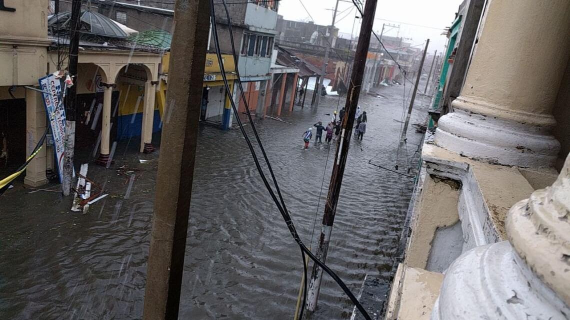 Caritas International Belgique Matthew détruit les efforts de reconstruction en Haïti.