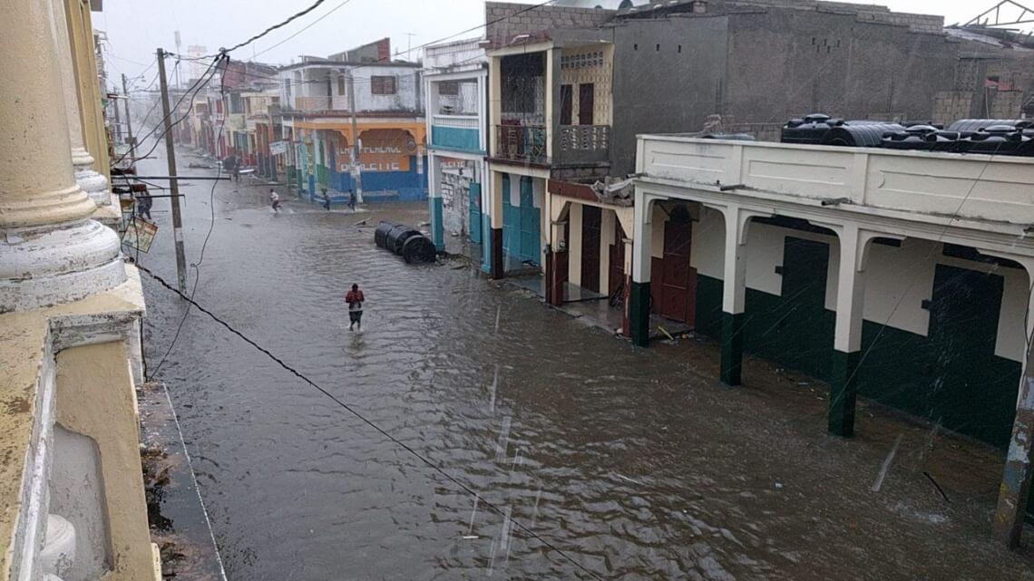 Caritas International België Orkaan Matthew veroorzaakt zware schade in Haïti