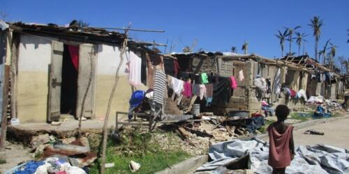 Caritas International « Je ne trouve pas de mots pour décrire la situation à Bonbon… »