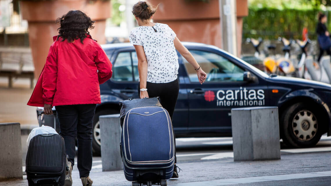 Caritas International België Individuele opvang: vervolg … en einde